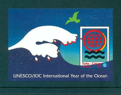 Turks & Caicos Is 1998 Yr of Ocean Mint MNH Sheet. One postage for multi buys.
