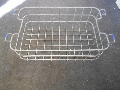 primitive vintage steel metal garden storage basket
