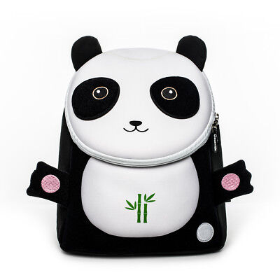 Toddler Kids Backpack Rucksack Baby School Book Bag Panda Leash Waterproof Bag