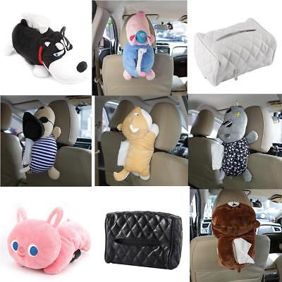 Cartoon Animal Design Home Office Tissue Box Cover Holder Car Accessory AU Stock