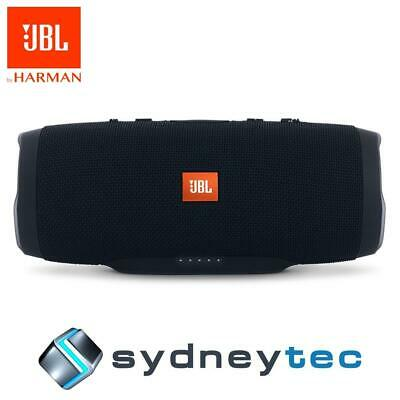 New JBL Charge 3 Portable Wireless Bluetooth Speaker - Black