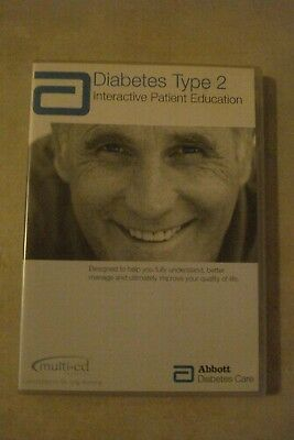 - Diabetes Type 2 - Interactive Patient Education [Pc Cd-Rom] Brand New $49.75