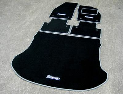 Carpets & Floor Mats Perfect Fit For Fiat Seicento 98-04 Anthracite Grey Car Mats with Black Trim