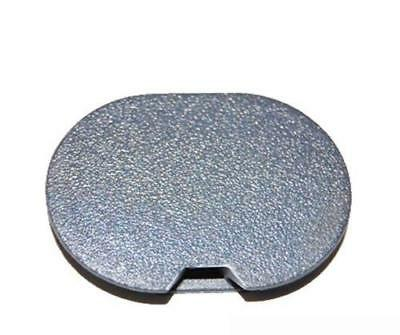 New Genuine Smart Roadster 452 Front Bumper Tow Hook Eye Cover Grey