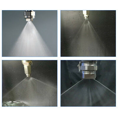 1/2'' 3/8'' 1/4'' 1/8''High Pressure Washer Spray Fan Nozzle Tip Stainless Steel