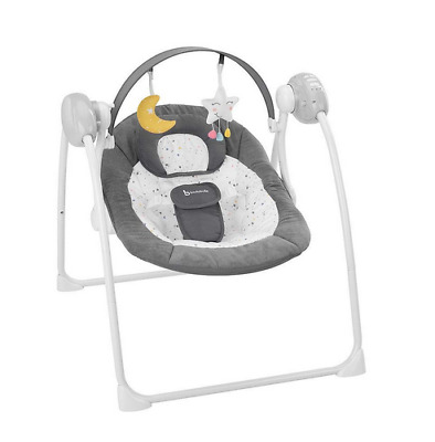 Brand new in box Badabulle Comfort swing in moonlight from birth to 9 kg