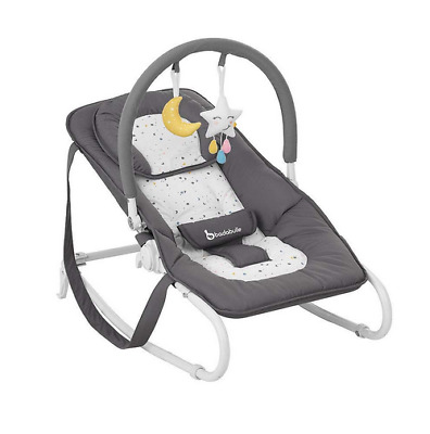 Brand new in box Badabulle Easy bouncer in moonlight from birth