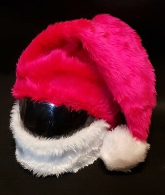 Motorcycle Cover Motorbike Funny Heeds Crazy Case Helmet Covers Santa Claus Hat