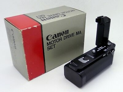 Canon Motor Drive Ma Set - Including Drive & Battery Pack (Boxed) #3259