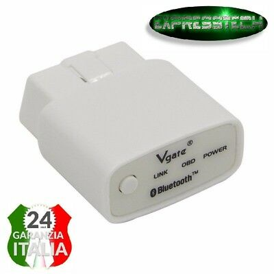 Diagnosi ELM327 Bluetooth Auto Code Reader OBD2 scanner con Switch VGATE
