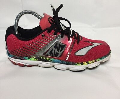 newest collection bade0 a7407 Brooks Pure Cadence 4 Women s 8M Pink Running Athletic Shoes Excellent