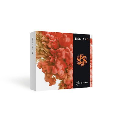 NEW IZOTOPE NECTAR 3 Vocal Production Cross-grade from any