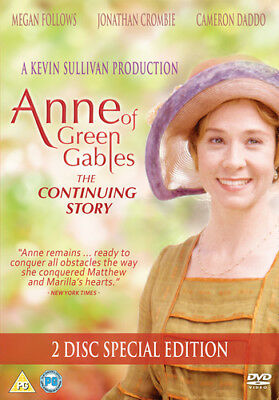 Anne of Green Gables: The Continuing Story DVD (2018) Megan Follows ***NEW***