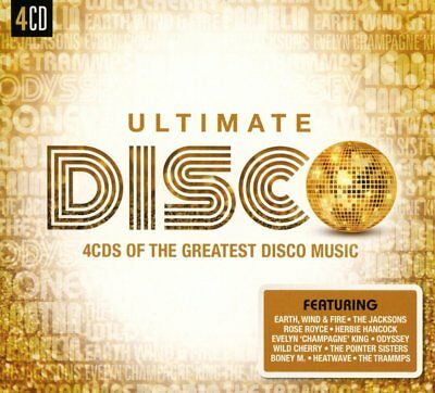 Greatest Hits Of The Disco Music / Dance / Soul  NEW SEALED 4 CD SET