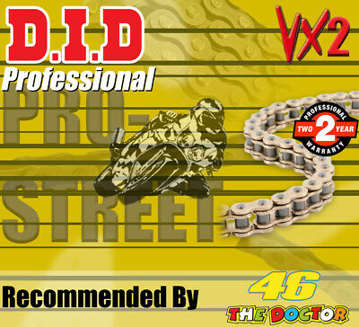 DID Gold  X-Ring  Drive Chain 520 P - 112 L for Suzuki Motorcycles