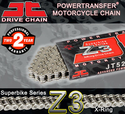 JT Nickel X-Ring  Drive Chain 520 P - 114 L for Suzuki Motorcycles