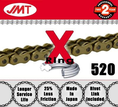 JMT Gold  X-Ring Drive Chain 520 P - 94 L for Kymco Atv / Quads