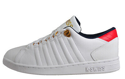 K Swiss Lozan III Mens Classic Casual Retro Vintage Leather Trainers White
