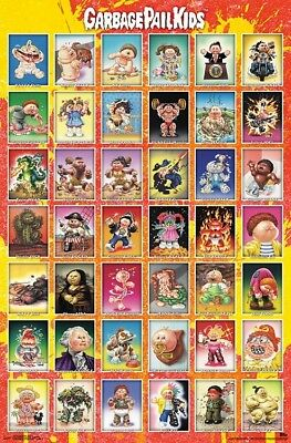 GARBAGE PAIL KIDS - CHARACTER GRID POSTER - 22x34 - 17163