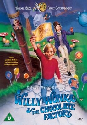 Willy Wonka The Chocolate Factory (DVD)