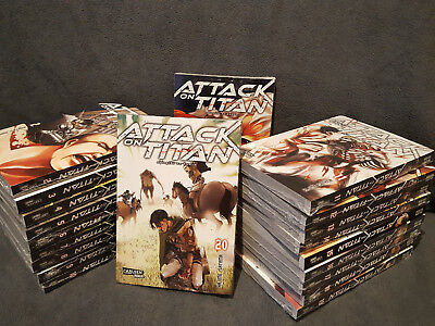 ATTACK ON TITAN : Deutsche Mangas Nr. 1-22  komplett & Neu!