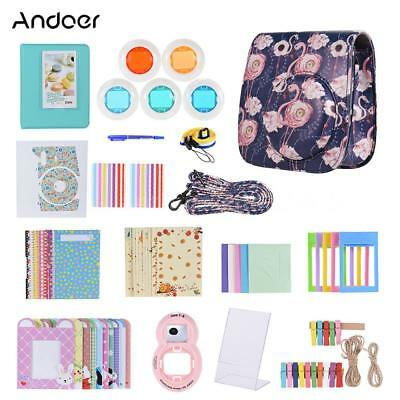Andoer 14 in 1 Accessories Kit for Fujifilm Instax Mini 9/8/8+/8s with L1L9
