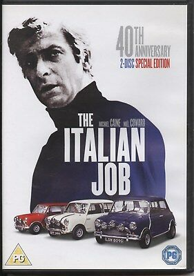 The Italian Job (DVD, 2009) (40th Anniversary 2-Disc Special Edition) DVD
