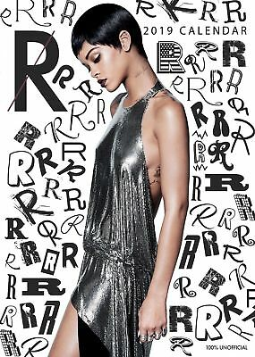 2019 Rihanna  A3 Calendar Wall Calender New Factory Sealed Perfect Gift