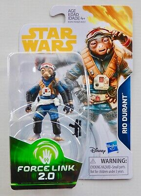 Star Wars New Force Link 2.0 A Solo Story Wave 4 Rio Durant Moc Action Figure