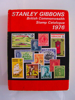 Stanley Gibbons British Commonwealth Stamp Catalogue 1976 - 78th Edition