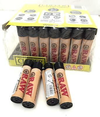 6x RAW CLIPPER Lighters - Authentic Reliable Refillable Windproof Long Lasting