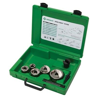 "Greenlee 7905SBSP Speed Punch 3/4"" - 2"" Kit"