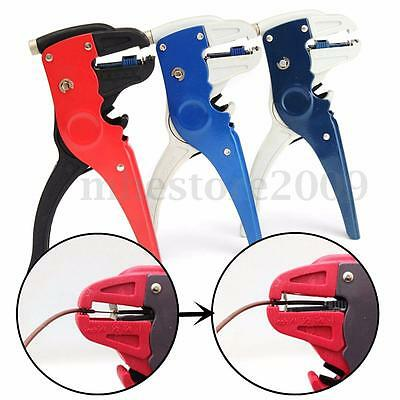 2 In 1 Automatic Cable Wire Stripper Tool Crimper Stripping Electrician Cutter