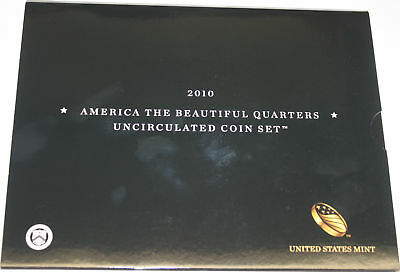2010 America The Beautiful Quarters Uncirculated 12 Coin Set