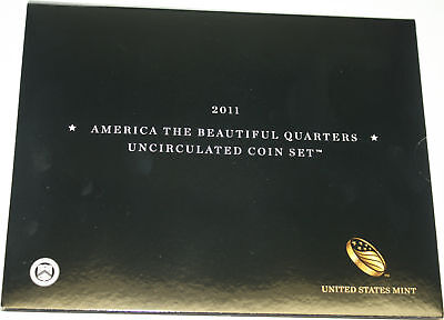 2011 America The Beautiful Quarters Uncirculated 12 Coin Set