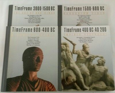 Time/Life TimeFrame Books ~ Lot of 4 ~ 3000 BC--AD 200 ~ History, Pyramids+
