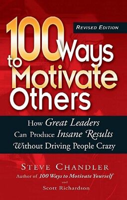 [PDF] 100 Ways to Motivate Others - Steve Chandler (Digital Book)