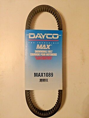 Dayco - MAX1089M3 - Max Drive Snowmobile Belt, 1 1/4in. x 42 3/4in. (US MADE)