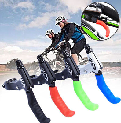 BC25 1 Pair Cycle Bicycle Bike Brake Lever Grip Protectors Handle Rubber Covers