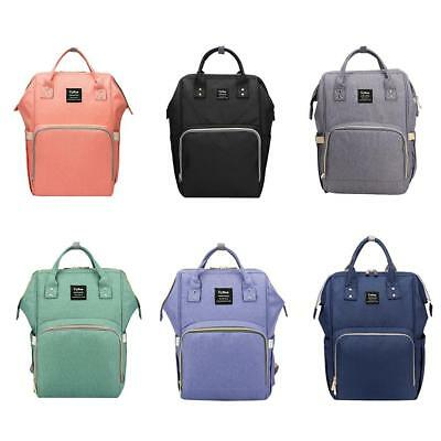 Waterproof Mummy Maternity Nappy Diaper Bags Large Capacity Baby Travel Backpack