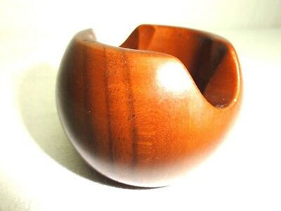Vtg Estate Pipe Dunhill Wood Bowl Single Pipe Rest Italy