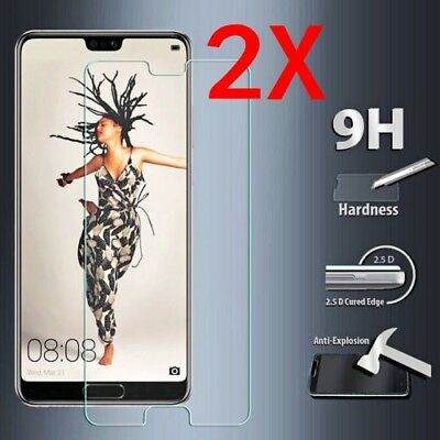 For Huawei P20 Pro Lite Tempered Glass Screen Protector Premium Protection