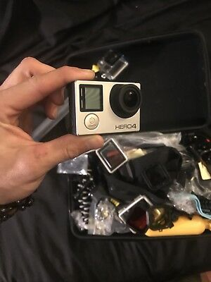 GoPro HERO 4 Digital Camcorder - Silver