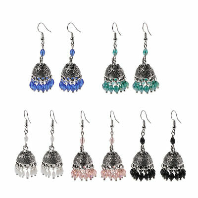 India Earring Traditional Antique Bollywood Jhumka Jhumki Ethnic Jewelry