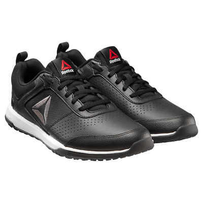 *SAVE* Reebok Men's CXT TR Athletic Shoes Black Leather pick Size cn4546