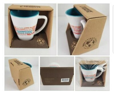 Dunkin Donuts Connecticut Destinations Ceramic Coffee Mug State Collection