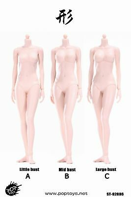 POPTOYS XING Series 92006 1/6 Flexible Pale Skin Female Action Figure Body Dolls