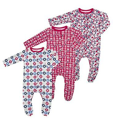 Boots Mini Club Baby Girl Sleepsuits Small Baby BNIP!