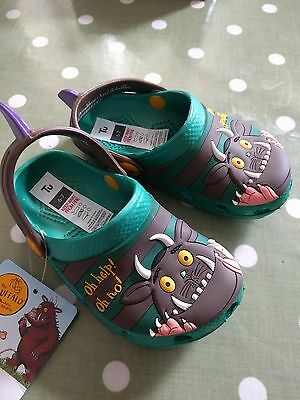 Tu Boys/Girls Gruffalo Clog Style Sandals  Infant 4-5 BNWT!