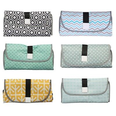 Waterproof Baby Diaper Changing Mat Travel Change Pad 3-in-1 Organizer Bag Great